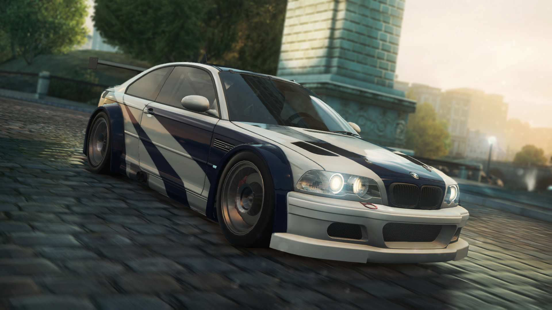 Most Wanted 2005 The Players BMW M3 GTR E46