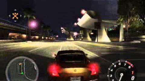 Sound of 350Z in Need for Speed Underground 2