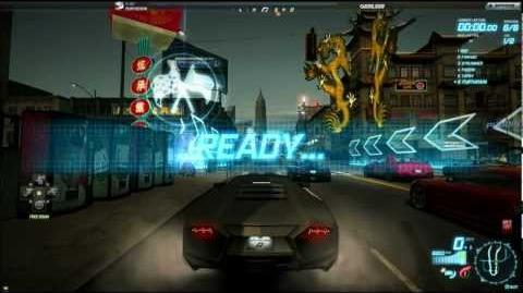 Need for Speed World Lunar Circuit