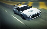 CarRelease BMW M1 Procar White 2