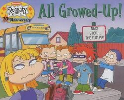 Rugrats All Growed Up Book
