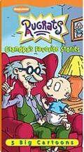 Rugrats Grandpa's Favorite Stories 2001 VHS