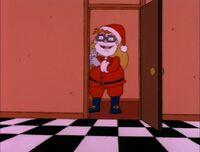 Chas as Santa
