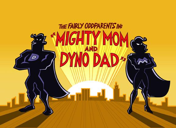 mighty mom and dyno dad meet the crimson chin memes