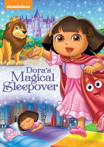 File:Dora the Explorer Dora's Magical Sleepover DVD.jpg