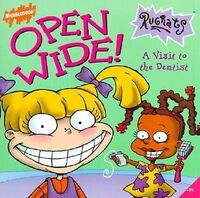 Rugrats Open Wide! Book