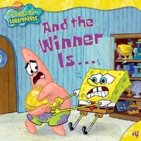 SpongeBob And The Winner Is Book