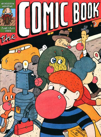 File:Nickelodeon Magazine The Comic Book cover june july 2000.jpg