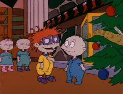 Rugrats Christmas group shot