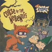 Rugrats Curse of the Werewuff Book