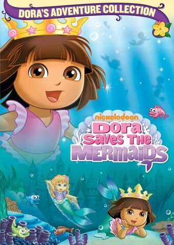 File:Dora the Explorer Dora Saves the Mermaids DVD 2.jpg