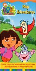 Dora the Explorer Map Adventures VHS