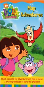 File:Dora the Explorer Map Adventures VHS.jpg