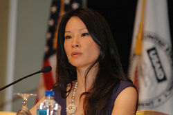 USAID Anti-Trafficking COnference with Lucy Liu