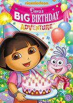 Dora the Explorer Dora's Big Birthday Adventure DVD