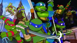 Trans-Dimensional Turtles promo artwork