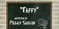 Taffy (ChalkZone episode)