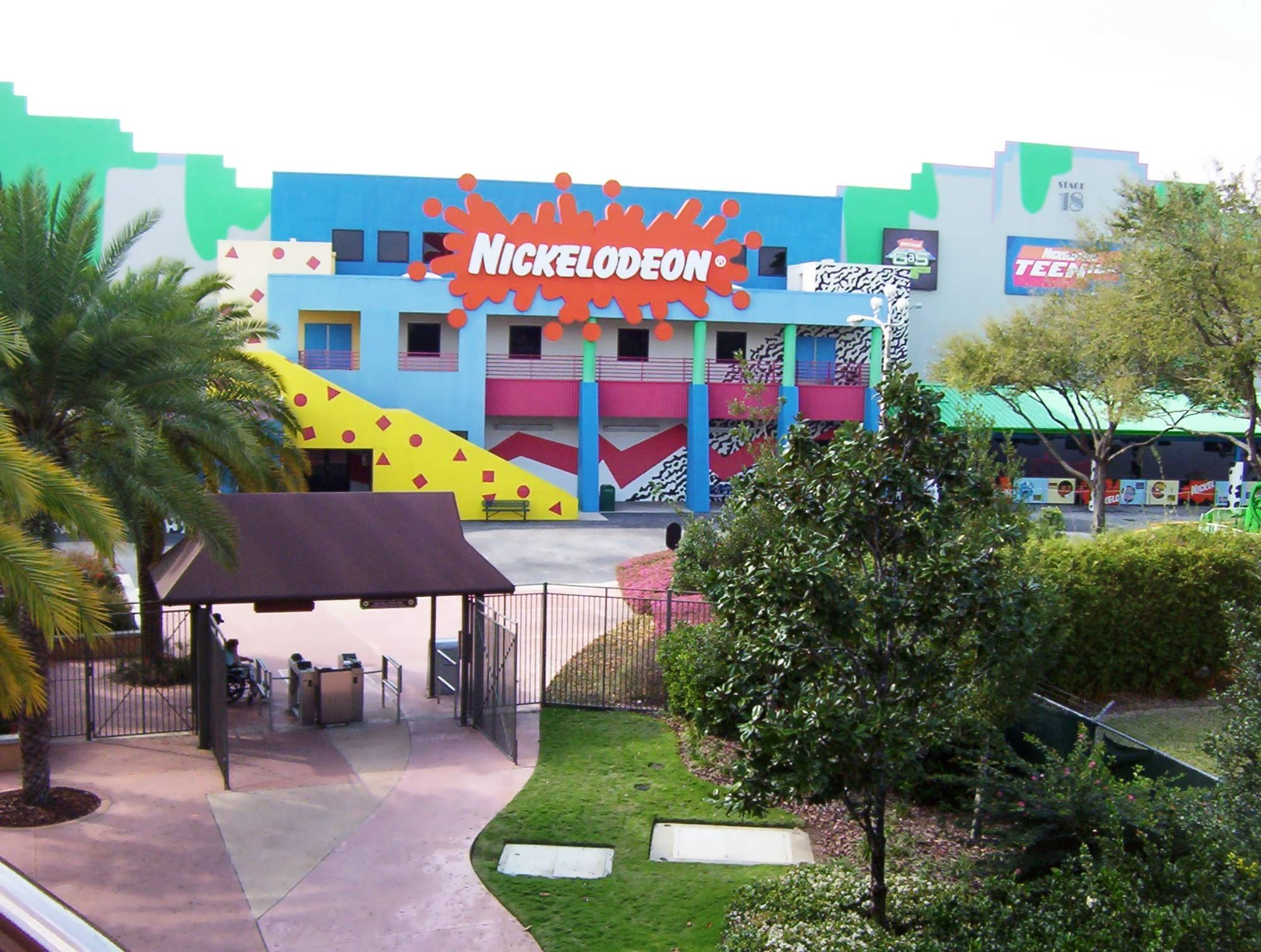 Nickelodeon Studios in Hard Rock Cafe.jpg