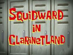 Squidward-in-Clarinetland
