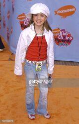 Christina Kirkman 2004 Kids Choice Awards