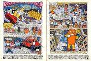 Nickelodeon Magazine comic Southern Fried Fugitives june july 1999