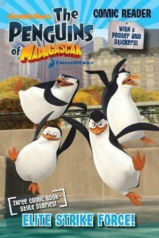 File:Penguins of Madagascar Elite Strike Force Book.JPG