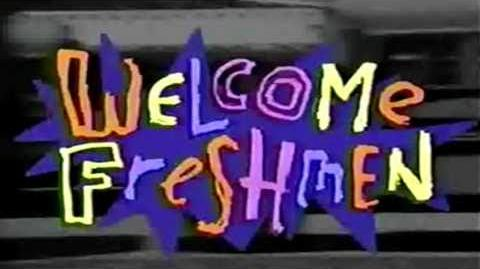 Welcome Freshmen (Nickelodeon) - Theme Song 1992