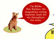 Zelda van gutters from march 1997 contents page