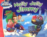 Jimmy Neutron Holly Jolly Jimmy Book
