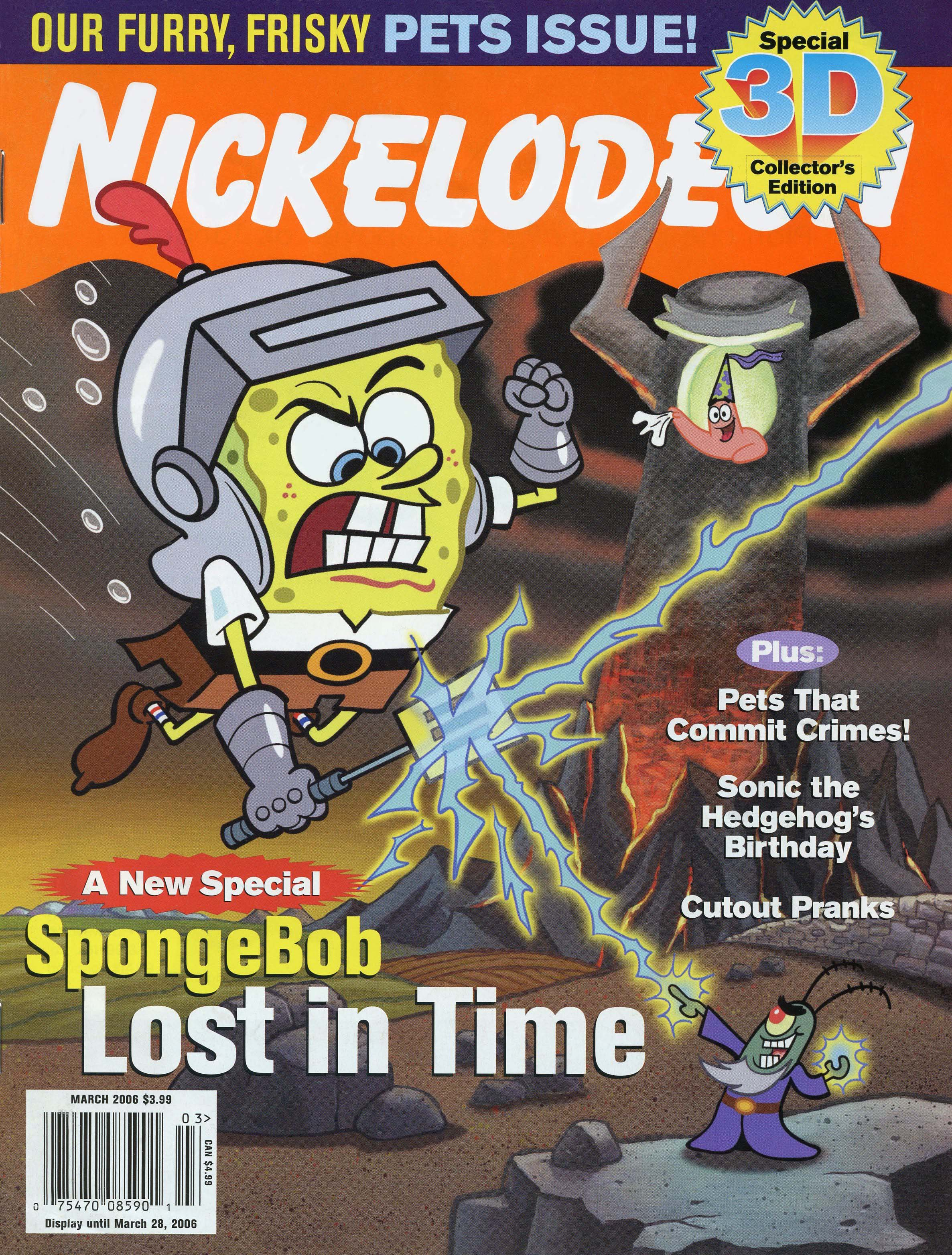 Rugrats And Other Nicktoons In Nickelodeon Magazine