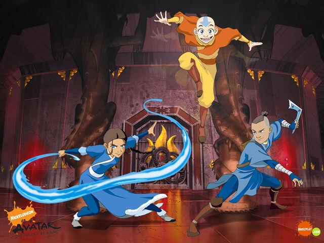 File:Avatar the Last Airbender Wallpaper.jpg