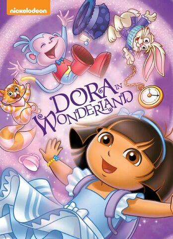File:Dora the Explorer Dora in Wonderland DVD.jpeg