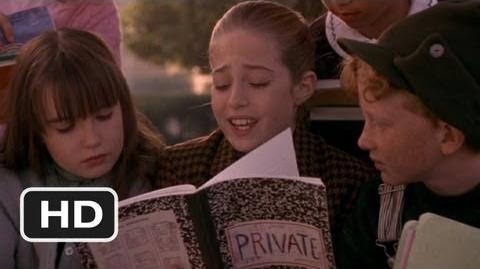 Harriet the Spy (7 10) Movie CLIP - The Private Notebook Revealed (1996) HD