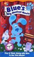 Blue's Clues Blue's Big Musical Movie VHS