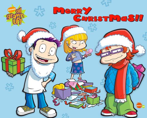 File:All Grown Up Christmas Wallpaper.jpg