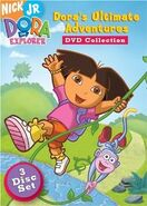 Dora the Explorer Dora's Ultimate Adventure Collection DVD