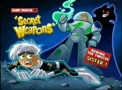 Danny Phantom Secret Weapons