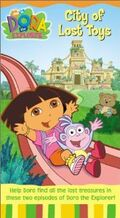 Dora the Explorer City of Lost Toys VHS