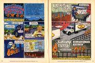 Nickelodeon Magazine comic February 1996 Southern Fried Fugitives