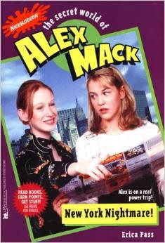 File:The Secret World of Alex Mack New York Nightmare! Book.jpg