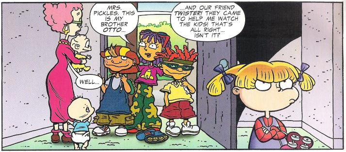 Image Rocket Gang In Rugrats Comic Adventures Jpg