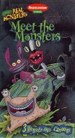 MeetTheMonsters SonyWonder VHS