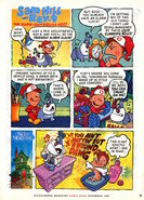 Nickelodeon Magazine comic Sam Hill and Ray 9 November 1997