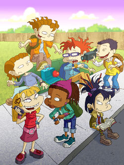 All Grown Up promotional art