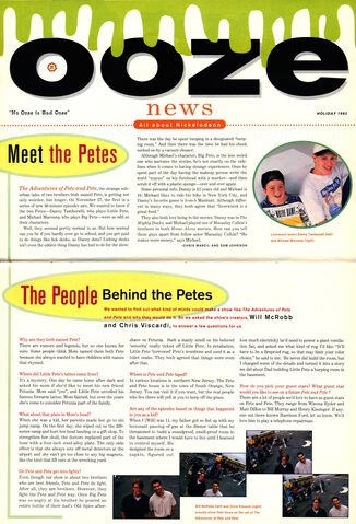 File:Nickelodeon Magazine Ooze News Holiday 1993 Adventures of Pete and Pete interview.jpg