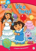 Dora the Explorer It's a Party! DVD