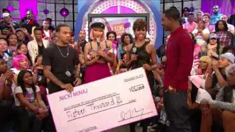 106 & Park Nicki Says Bye to 106 & her Barbz
