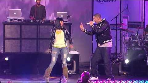 Drake & Nicki Minaj Perform Bedrock Jimmy Kimmel Live