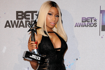 Nicki wins BET Awards 2013