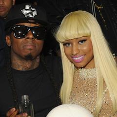 Lil Wayne at Nicki's birthday